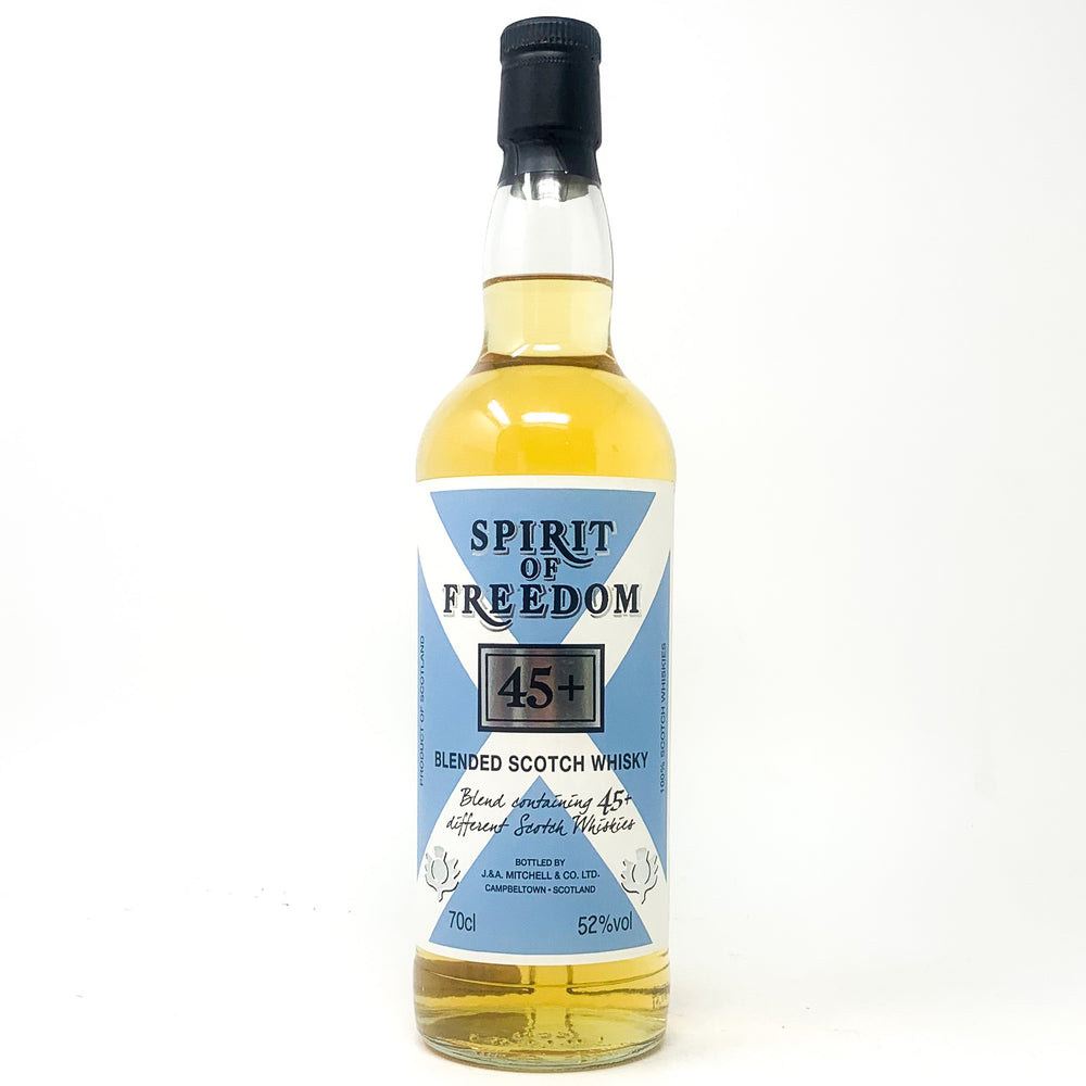 Spirit of Freedom 45+ Blended Scotch Whisky, 70cl, 52% ABV