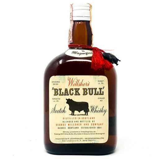George Wilsher's Black Bull Blended Scotch Whisky, 1970s, 75cl, 43% ABV