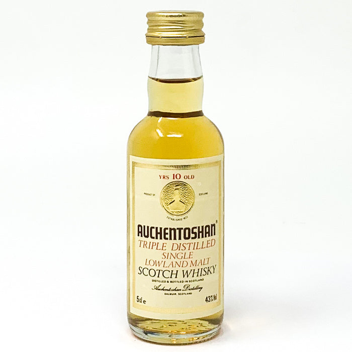 Auchentoshan 10 Year Old Whisky, Miniature, 5cl, 43% ABV