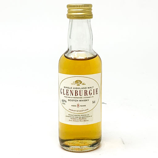 Glenburgie 8 Year Old Scotch Whisky, Miniature, 5cl, 40% ABV