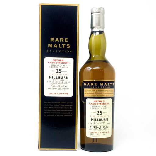Millburn 1975 25 Year Old Rare Malts Scotch Whisky, 70cl, 61.9% ABV