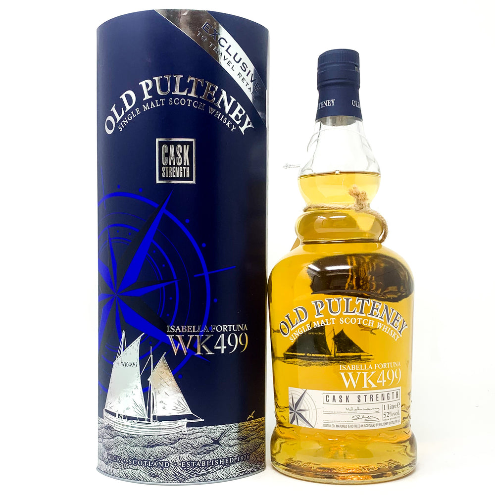 Old Pulteney Isabella Fortuna WK499 Scotch Whisky, 1L, 52% ABV