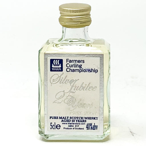 Farmers Curling Championship Silver Jubilee Scotch Whisky, Miniature, 5cl, 40% ABV