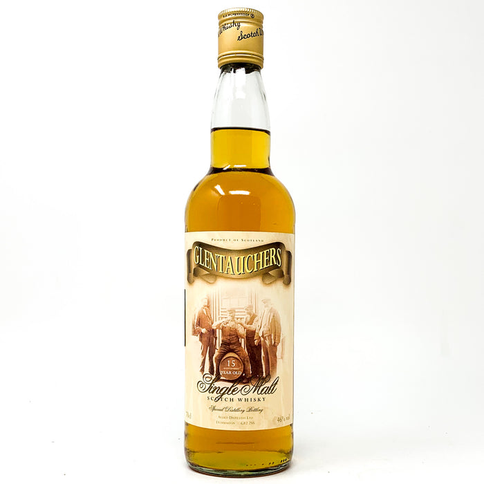 Glentauchers 15 Year Old Single Malt Scotch Whisky WG, 70cl, 46% ABV