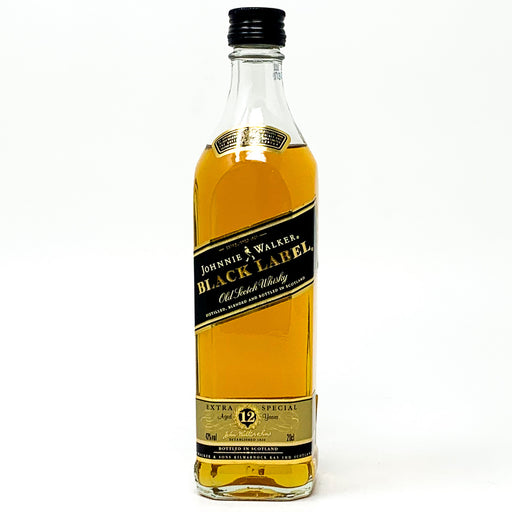 Johnnie Walker Black Label 12 Year Old Old Scotch Whisky, 20cl, 43% ABV