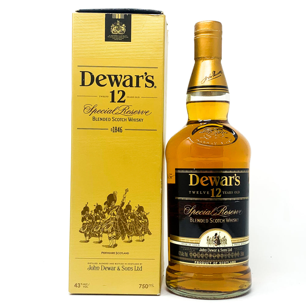 Dewar's 12 Year Old Special Reserve 1846