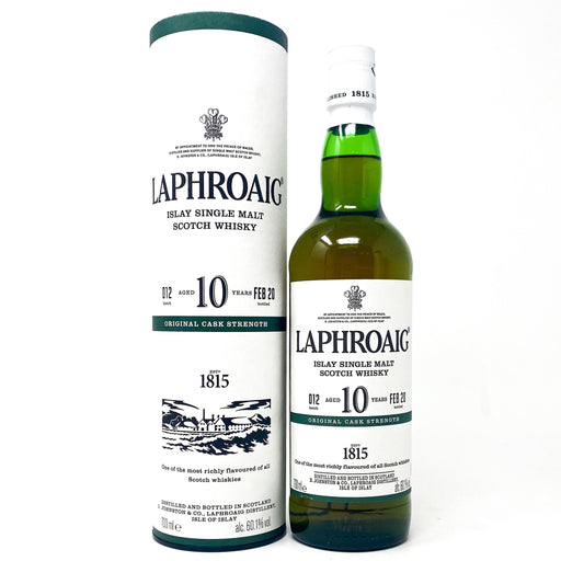 Laphroaig 10 Year Old Batch 012 Scotch Whisky, 70cl, 60.1% ABV