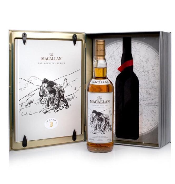 Macallan Archival Series Folio 3 Old and Rare Whisky