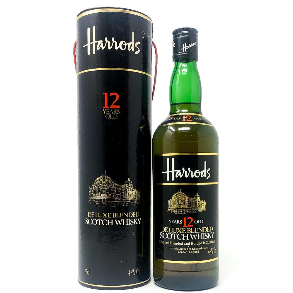 Harrods De-Luxe Blended Scotch Whisky, 12 years old, 75cl, 43% ABV