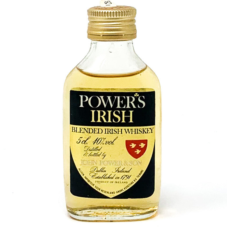 Power's Blended Irish Whiskey, Miniature, 5cl, 40% ABV