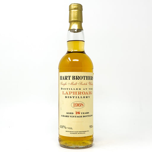 Laphroaig 1968 Hart Brothers 26 Year Old Scotch Whisky, 70cl, 43% ABV