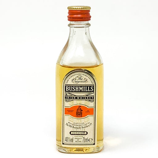 Bushmills Irish Whiskey, Miniature, 7.1ml, 40% ABV