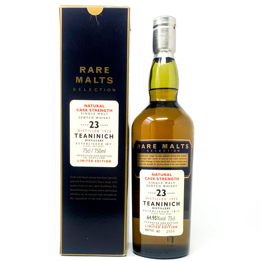 Teaninich 23 Year Old 1972 Rare Malts Scotch Whisky, 75cl, 64.95% ABV