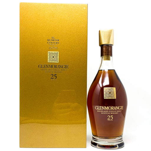 Glenmorangie 25 Year Old Quarter of a Century Scotch Whisky, 70cl, 43% ABV