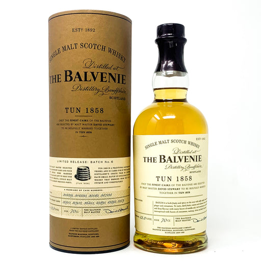 Balvenie Tun 1858 Batch No6 Scotch Whisky, 70cl, 52.3% ABV