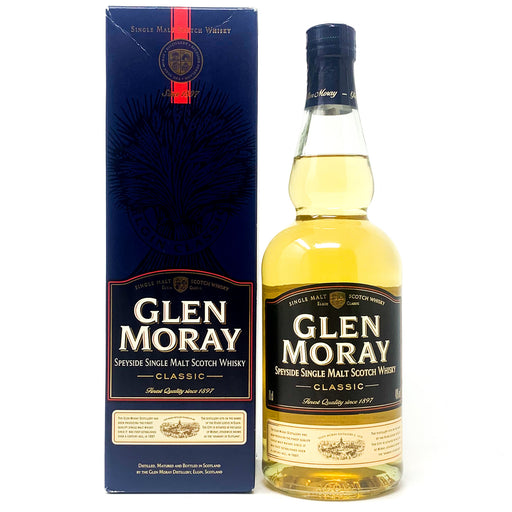 Glen Moray Speyside Single Malt Whisky Classic, 70cl, 40% ABV