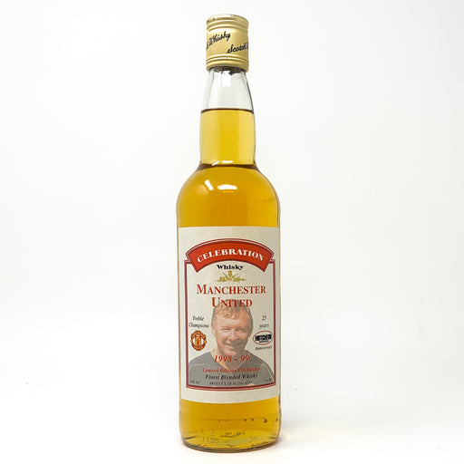 Manchester United Celebration Whisky, 'Treble Champions', 70cl, 40% ABV