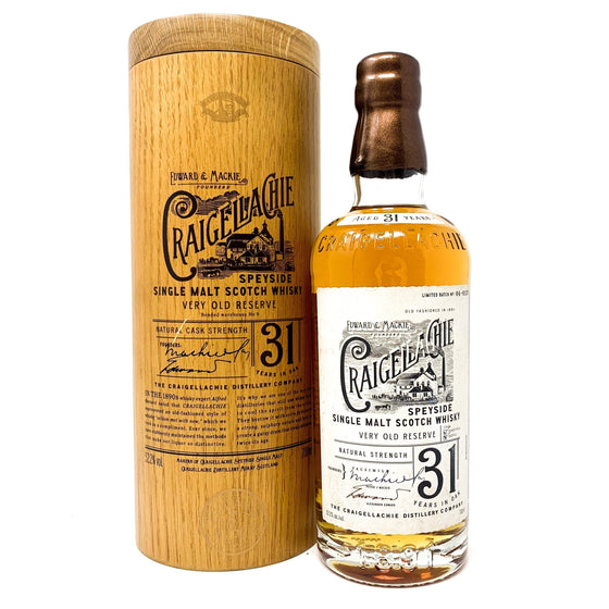 Craigellachie 31 Year Old Very Old Reserve Limited Batch Whisky Old and Rare Whisky