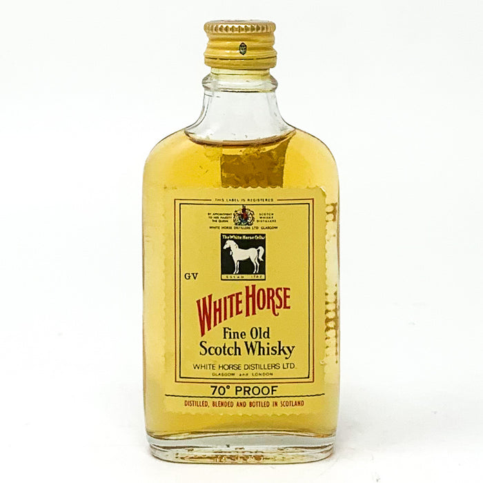 White Horse Fine Old Scotch Whisky, Miniature, 5cl, 40% ABV