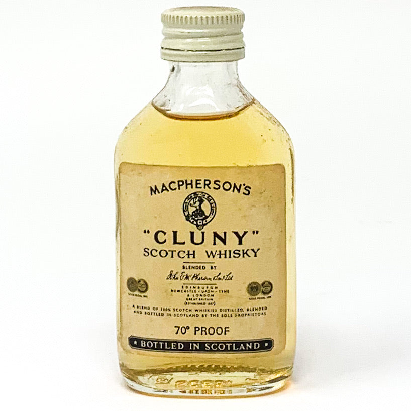 Macpherson's 'Cluny' Scotch Whisky, Miniature, 5cl, 40% ABV