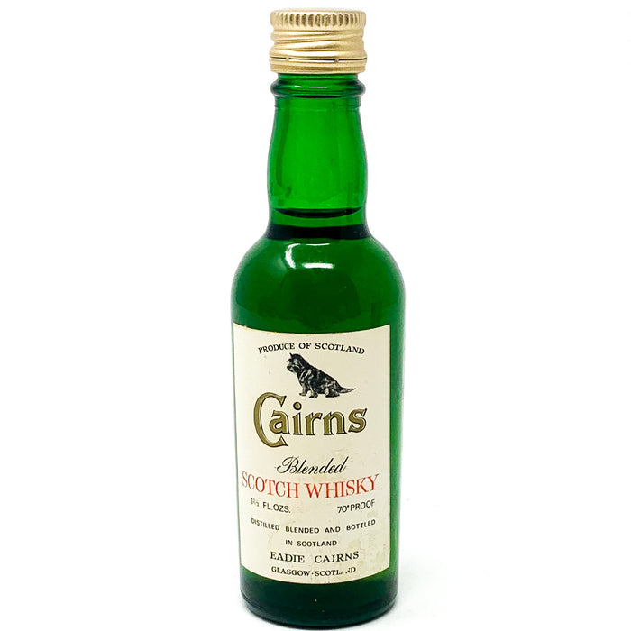 Cairns Blended Scotch Whisky, Miniature, 5cl, 40% ABV