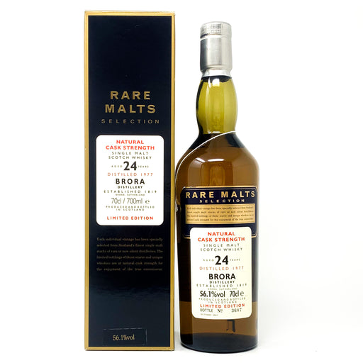 Brora 24 Year Old 1977 Rare Malts Cask Strength, 70cl, 56.1% ABV