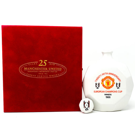 Manchester United 25 Year Old 'European Champions' Whisky, 70cl, 40% ABV
