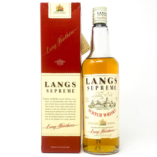 Lang's Supreme Scotch Whisky, 75cl, 40% ABV