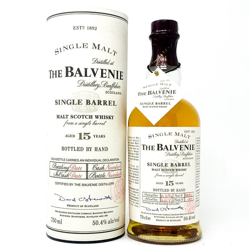 Balvenie 15 Year Old 1977 Single Barrel 70cl, 50.4% ABV