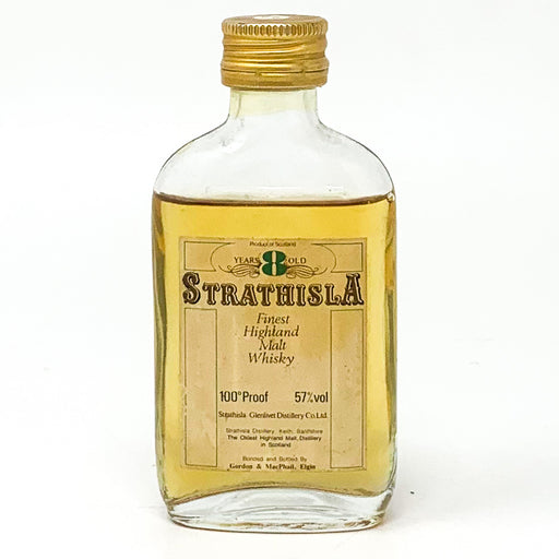 Strathisla 8 Year Old Finest Highland Malt Whisky, Miniature, 5cl, 57% ABV