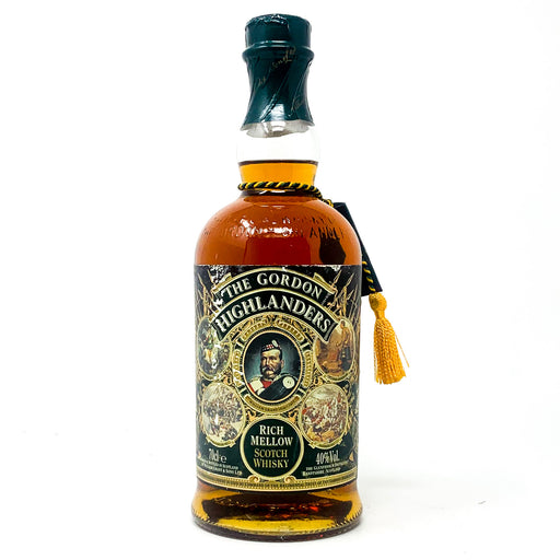 The Gordon Highlanders Rich Mellow Scotch Whisky, 70cl, 40% ABV