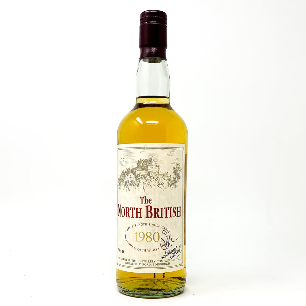 North British 1980 Single Grain Scotch Whisky WG, 70cl, 60.8% ABV
