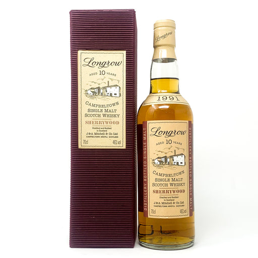 Longrow 10 Year Old Sherry Wood Scotch Whisky, 70cl, 46% ABV