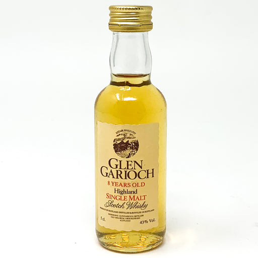 Glen Garioch 8 Year Old Highland Single Malt Scotch Whisky, Miniature, 5cl, 43% ABV