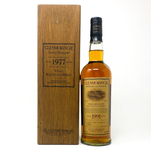 Glenmorangie 1977 - 21 Year Old Scotch Whisky, 70cl, 43% ABV