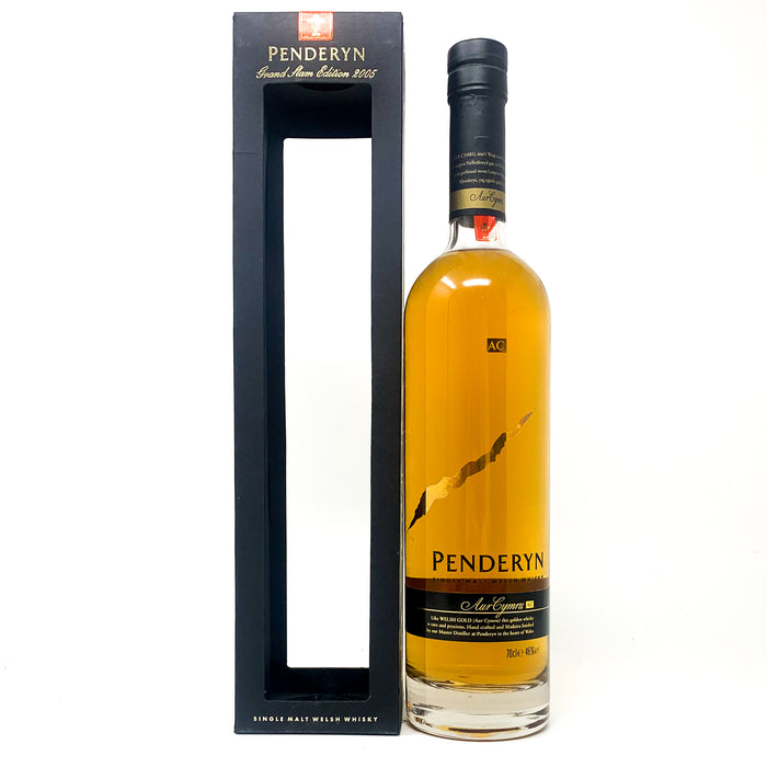 Penderyn Welsh Whisky Grand Slam Edition 2005 70cl, 46% ABV