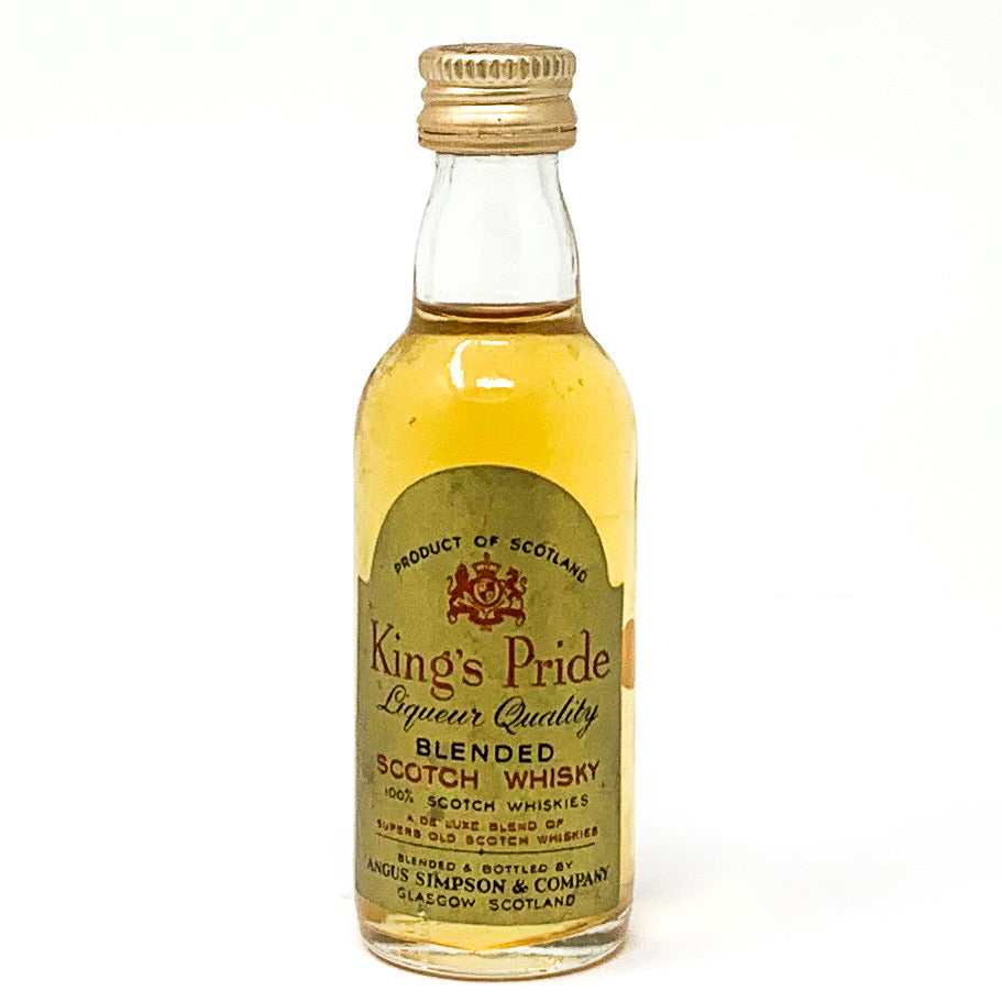King's Rider Blended Scotch Whisky, Miniature, 4.73cl, 43% ABV