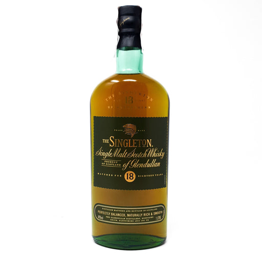 Singleton of Glendullan 18 Year Old 1 Litre Whisky Old and Rare Whisky