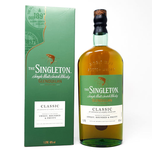 Singleton of Glendullan Classic 1 Litre Whisky Old and Rare Whisky