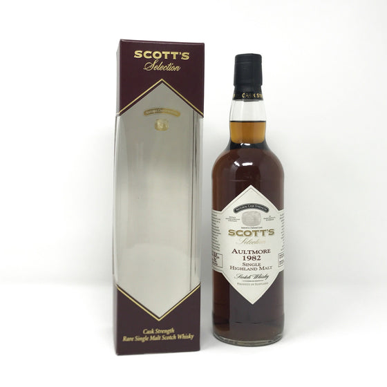 Aultmore 1982 Scott's Selection Cask Strength Whisky Old and Rare Whisky
