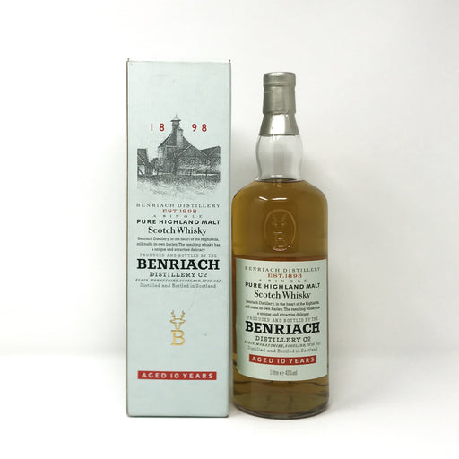 Benriach 10 Year Old (old bottling) 1 Litre Whisky Old and Rare Whisky