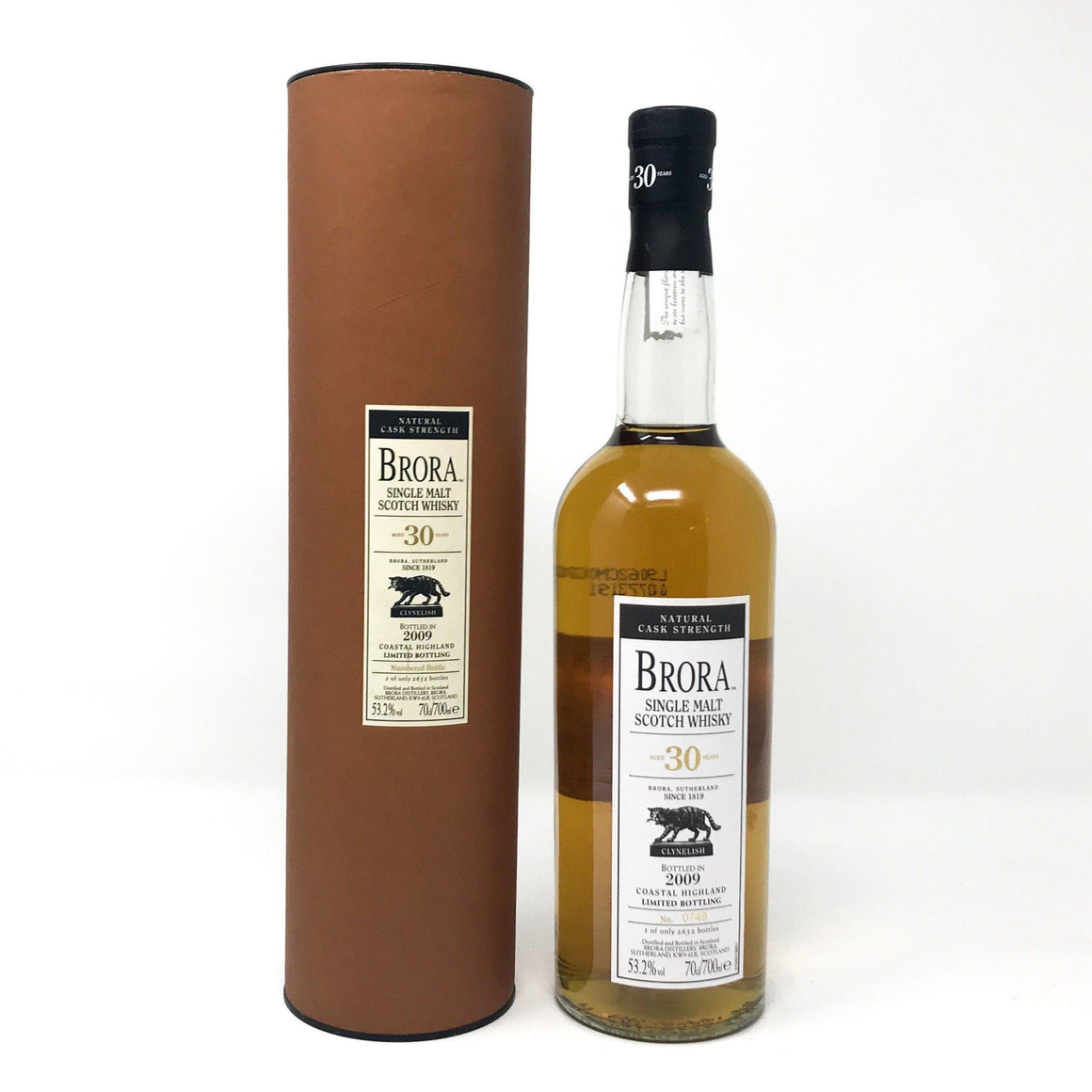 Brora 30 Year Old 2009 Release Whisky Old and Rare Whisky