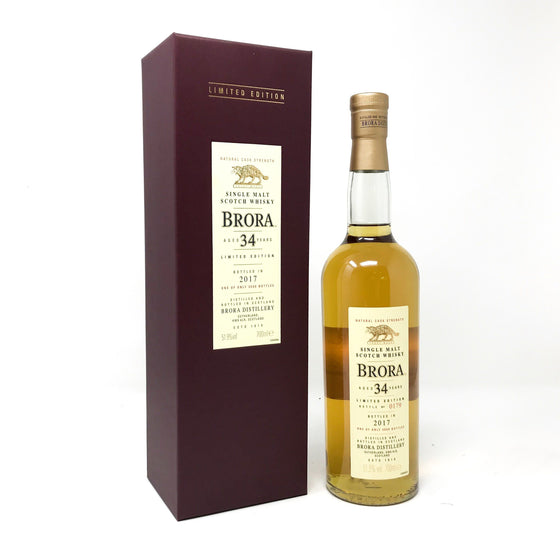 Brora 34 Year Old 2017 Release Whisky Old and Rare Whisky