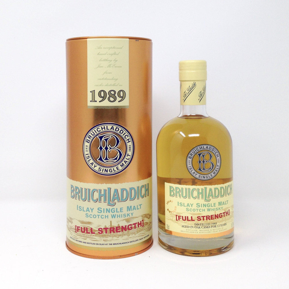 Bruichladdich 1989 Full Strength Whisky Old and Rare Whisky