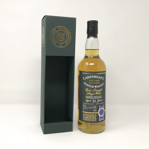 Cadenhead's Longrow 13 Year Old Limited Edition Whisky Old and Rare Whisky