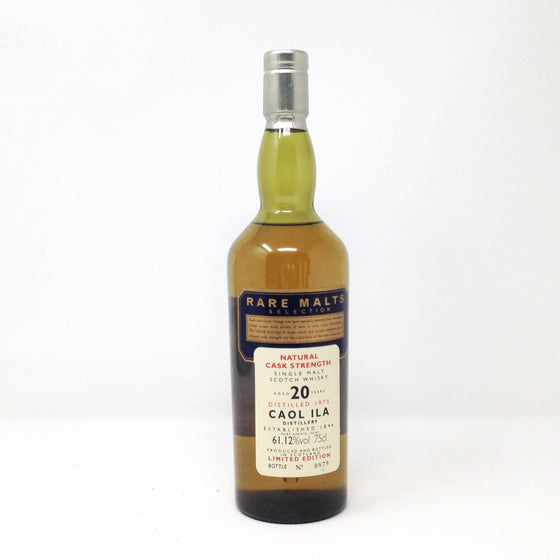 Caol Ila 20 Year Old Rare Malts 1975 Whisky Old and Rare Whisky