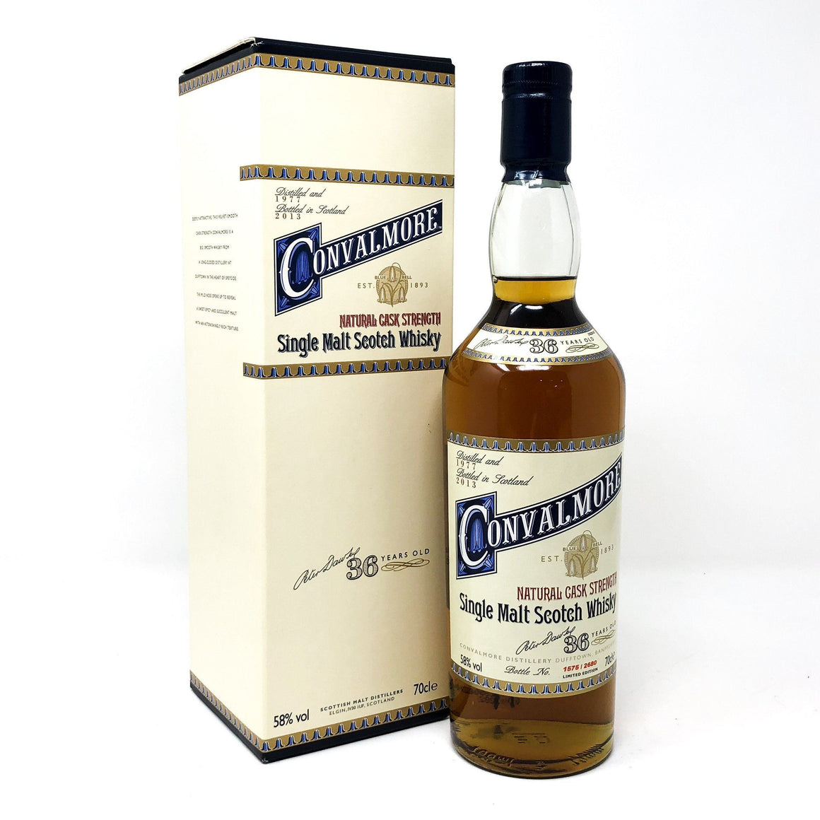 Whisky - Convalmore 36 Year Old Cask Strength