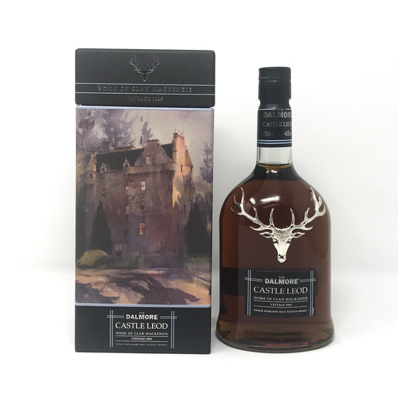 Dalmore Castle Leod Whisky Old and Rare Whisky