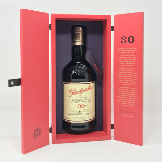 Whisky - Glenfarclas 30 Year Old Whisky