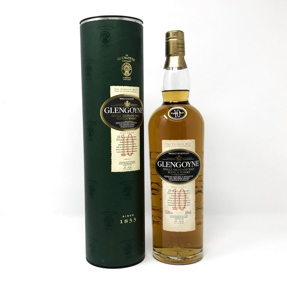 Glengoyne 10 Year Old 1 Litre Whisky Old and Rare Whisky